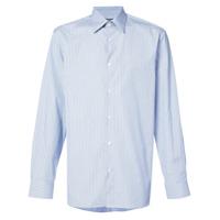 Calvin Klein 205W39Nyc Camisa Listrada - Azul