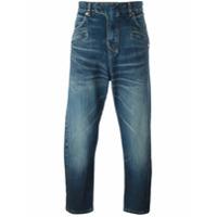 Balmain Calça Jeans Saruel - Azul
