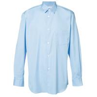 Comme Des Garçons Shirt Boys Camisa Com Bolso - Azul