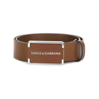 Dolce & Gabbana Cinto De Couro - Marrom