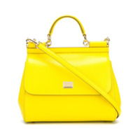 Dolce & Gabbana Bolsa Tote Modelo 'sicily' - Amarelo