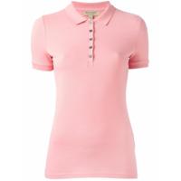 Burberry Camisa Polo - Pink & Purple