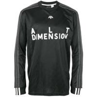 Adidas Originals By Alexander Wang Camiseta Mangas Longas - Preto