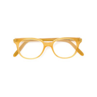Cutler & Gross Armação De Óculos Em Acetato - Amarelo E Laranja