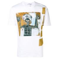 Comme Des Garçons Shirt Camiseta Decote Arredondado - Branco