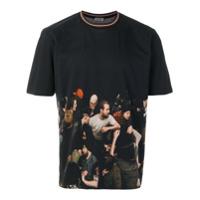 Dior Homme Camiseta Com Estampa - Preto
