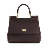 Dolce & Gabbana Bolsa Modelo 'sicily' - Vermelho