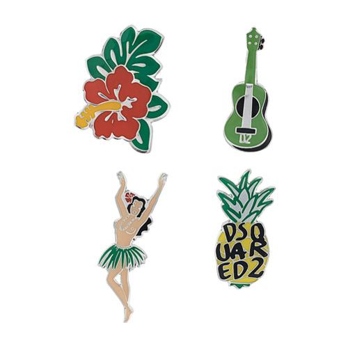 Imagem de Dsquared2 Hawaii themed pins - Estampado