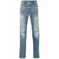 Pierre Balmain Calça Jeans Slim Fit - Azul