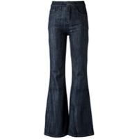 Corporeum Calça Jeans Flare - Azul