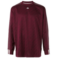 Adidas Originals By Alexander Wang Camiseta Mangas Longas - Pink & Purple