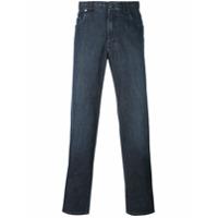 Brioni Calça Jeans Slim - Azul