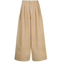 Cityshop Calça Pantacourt - Brown