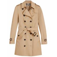 Burberry Trench Coat Com Cinto - Nude & Neutrals