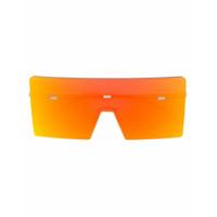 Dior Eyewear Óculos De Sol 'hardio' - Amarelo E Laranja