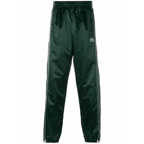 Imagem de Adidas Originals By Alexander Wang Calça esportiva com listras laterais - Green