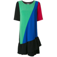 Boutique Moschino Vestido Color Block - Estampado