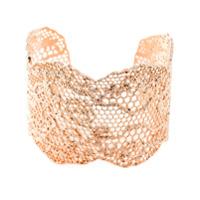 Aurelie Bidermann Bracelete Modelo 'vintage Lace' - Metallic