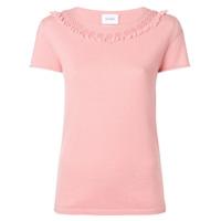 Barrie Camiseta De Cashmere - Rosa