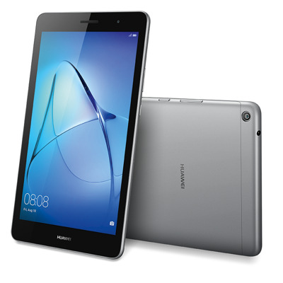 Huawei MediaPad T3 8 LTE grey Tablet , 8 HD IPS Display, 2 GB RAM. 16 GB Speicher, Android 7