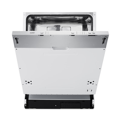 Comfee CGV60SAA Edelstahl Geschirrspüler, vollintegrierbar, A , 60 cm, 12 Maßgedecke
