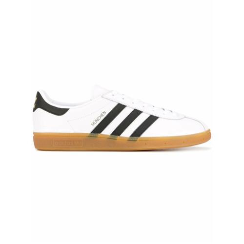 Adidas Tênis de couro 'Munchen' - Branco