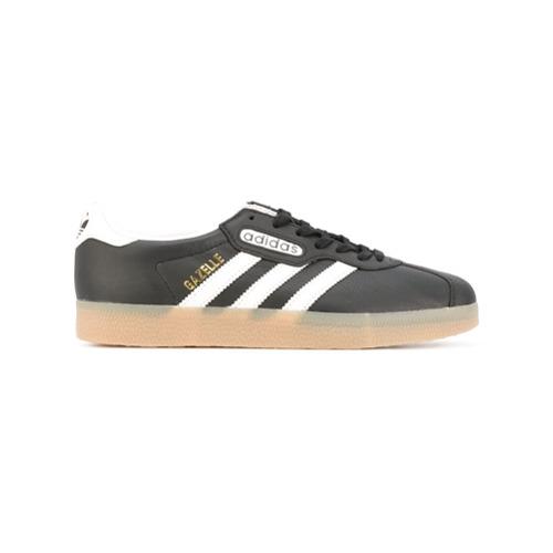 Adidas Tênis de couro 'Gazelle' - Preto