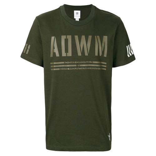 Adidas By White Mountaineering Camiseta com estampa de logo - Green