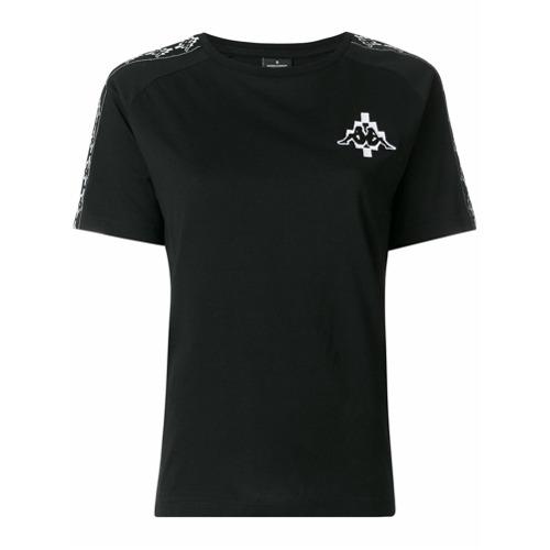Marcelo Burlon County Of Milan Camiseta 'Kappa' - Preto