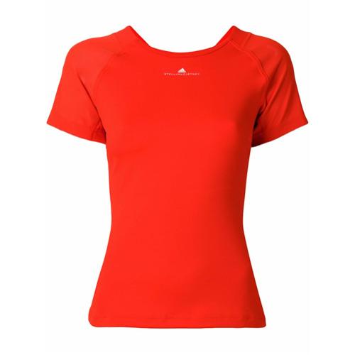 Adidas By Stella Mccartney Blusa com recorte vazado - Vermelho