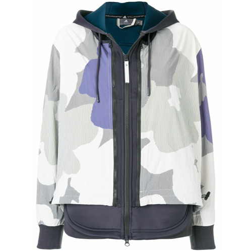 Adidas By Stella Mccartney Jaqueta bomber - Grey