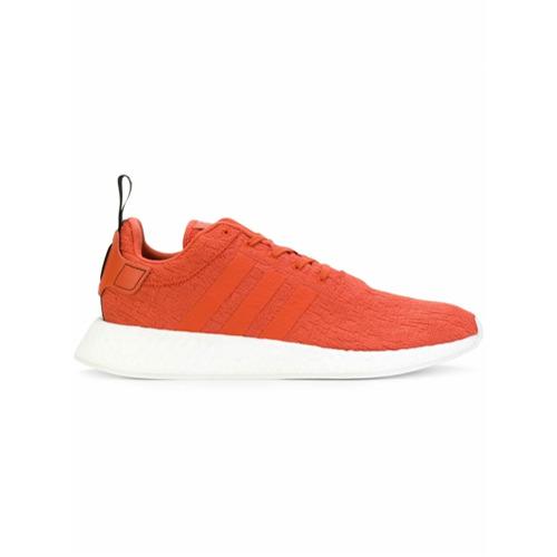 Adidas Tênis 'Adidas Originals NMD_R2' - Amarelo E Laranja
