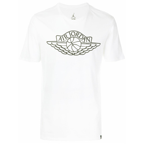 Nike Camiseta 'Air Jordan' - Branco