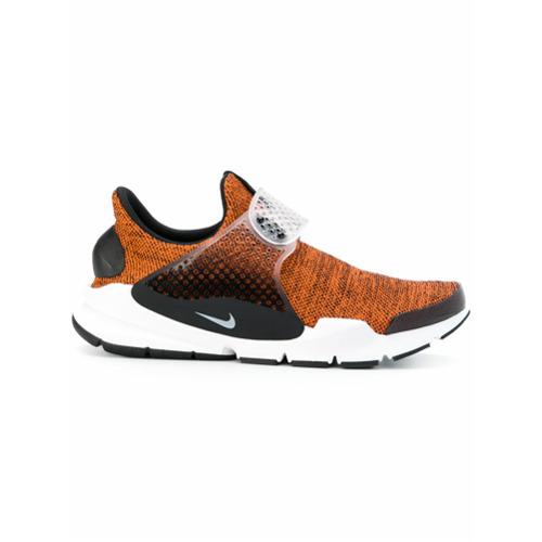 Nike Tênis 'Sock Dart Breathe' - Amarelo E Laranja