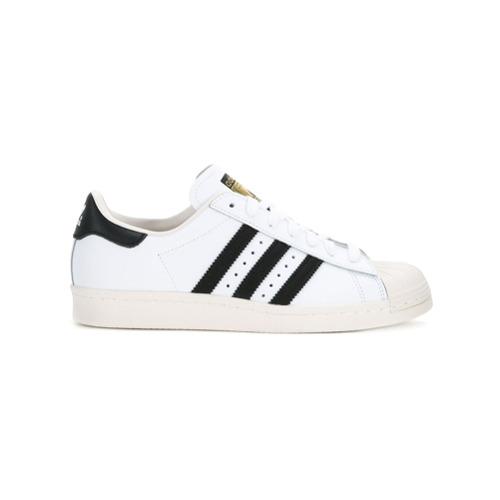Adidas Tênis de couro - Branco
