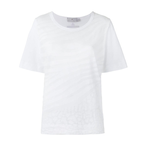 Adidas By Stella Mccartney Camiseta com estampa - Branco
