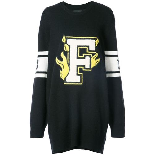 Fenty X Puma Suéter com contraste - Preto
