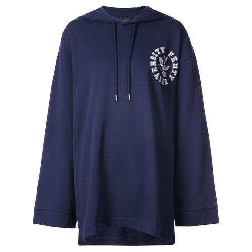 Fenty X Puma Blusa de moletom com capuz - Azul