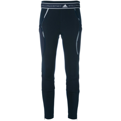 Adidas By Stella Mccartney Legging de tricot 'Run' - Azul