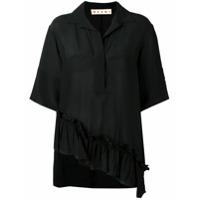 Marni Camisa Assimétrica - Preto