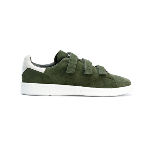 Adidas By White Mountaineering Tênis de couro com velcro - Green