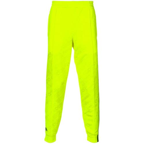 Adidas Originals By Alexander Wang Calça de moletom jacquard - Amarelo E Laranja