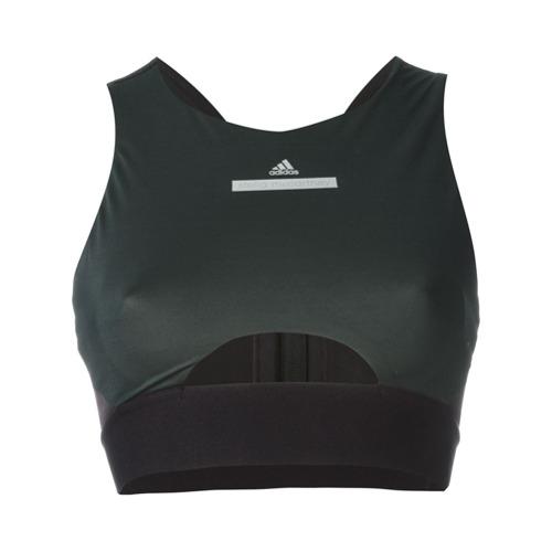 Adidas By Stella Mccartney Blusa cropped 'Run' - Preto