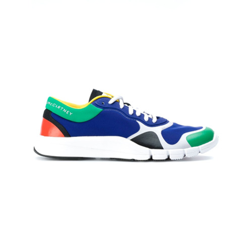 Adidas By Stella Mccartney Tênis color block - Azul