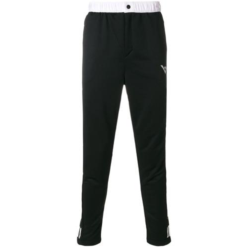 Adidas By White Mountaineering Calça com logo - Preto
