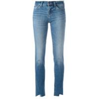 J Brand Calça Jeans Com Detalhe De Recorte - Azul