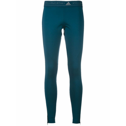 Adidas By Stella Mccartney Calça legging 'Run' - Azul