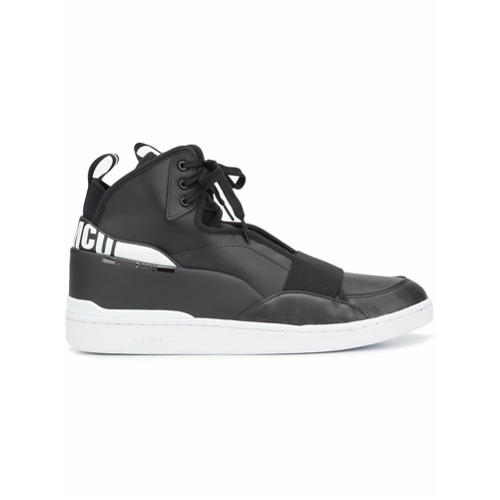 Puma Puma x McQ lace-up hi-tops - Preto