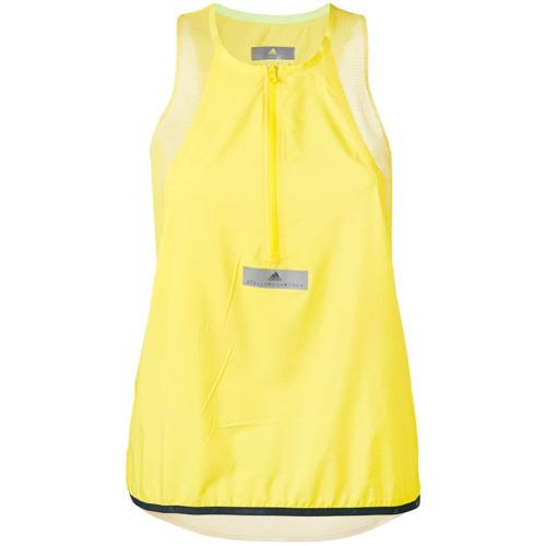Adidas By Stella Mccartney Regata com detalhe de zíper - Amarelo E Laranja