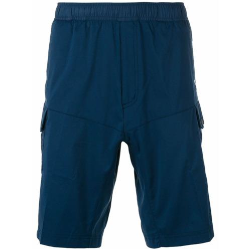 Adidas By White Mountaineering Bermuda com bolsos - Azul